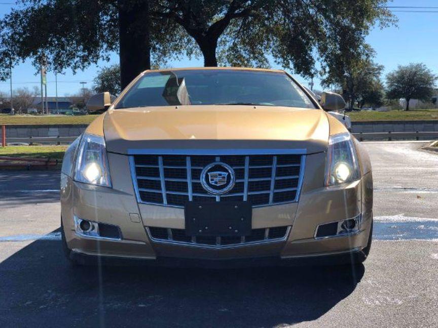 2013 Cadillac Cts Coupe Premium San Antonio Tx R L Certified