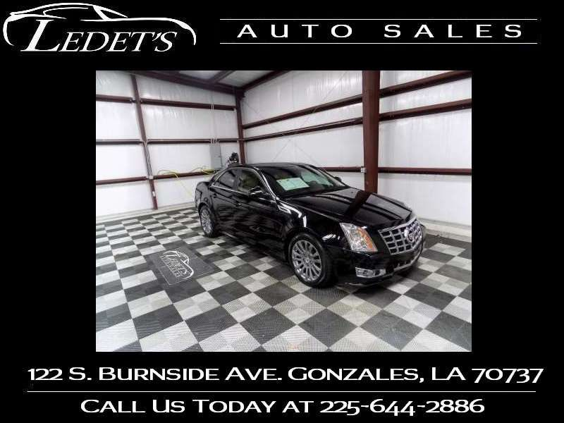 2013 Cadillac CTS Sedan Performance - Ledet's Auto Sales Gonzales_state_zip in Gonzales Louisiana