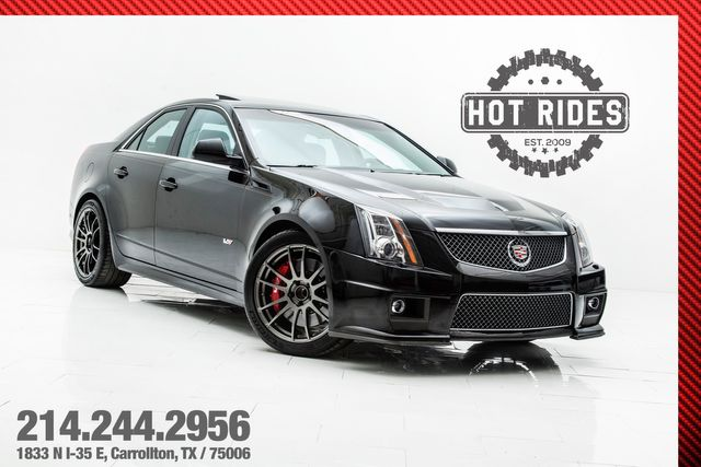 2013 Cadillac CTS-V Sedan With Many Upgrades in Carrollton, TX 75006