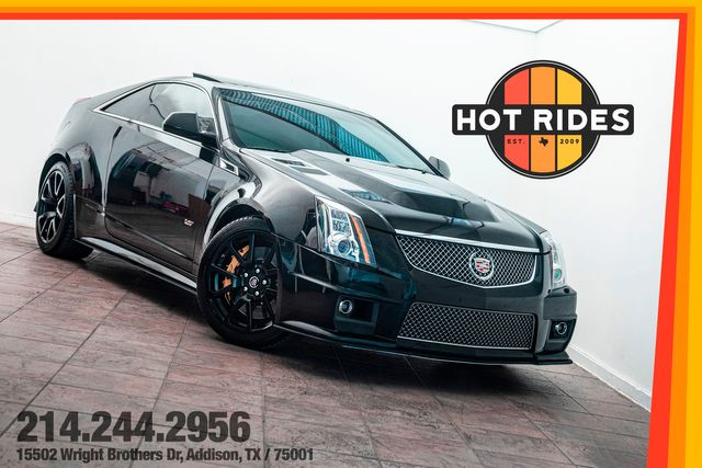 2013 Cadillac CTS-V Coupe 6-Speed Manual Cammed w/ Upgrades