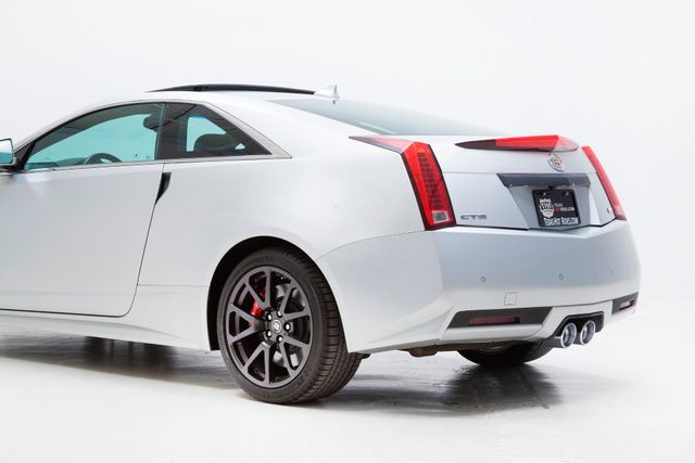 2013 Cadillac CTS-V Coupe In Silver Frost Matte in TX, 75006