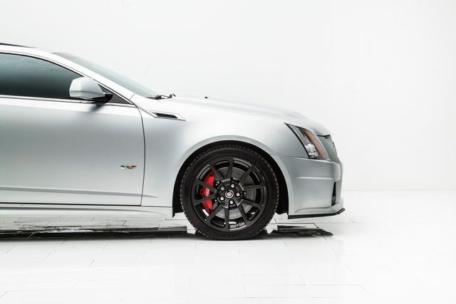 2013 Cadillac CTS-V Coupe Silver Frost Edition 1 of 100 made in Carrollton, TX 75006