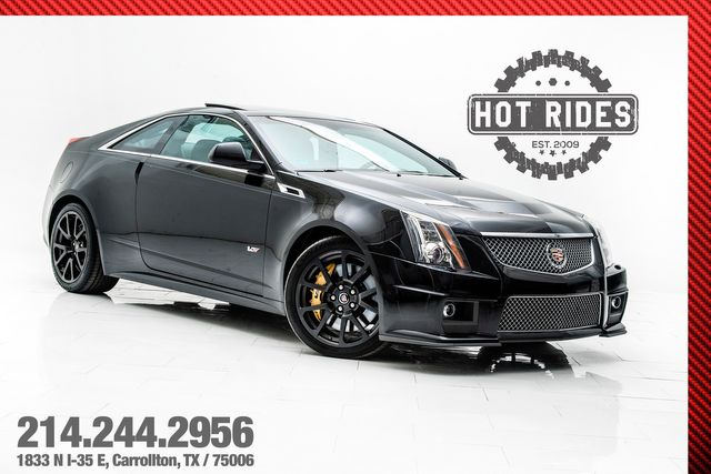 2013 Cadillac CTS-V Coupe 6-Speed Manual 665hp