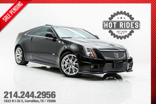 2013 Cadillac CTS-V Coupe 6-Speed