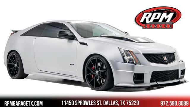 2013 Cadillac CTS-V Silver Frost 1 out of 100 made
