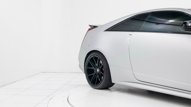 2013 Cadillac CTS-V Silver Frost 1 out of 100 made in Dallas, TX 75229