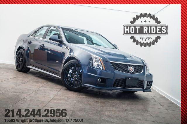 2013 Cadillac CTS-V Sedan 6-Speed Stealth Blue Edition 1 of 1 Produced