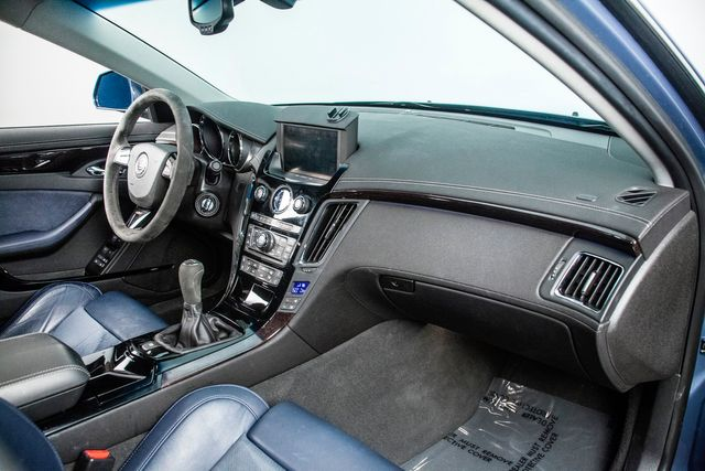 2013 Cadillac CTS-V Sedan 6-Speed Stealth Blue Edition 1 of 1 Produced in Addison, TX 75001