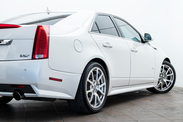 2013 Cadillac CTS-V Sedan Cammed With Many Upgrades in Addison, TX 75001