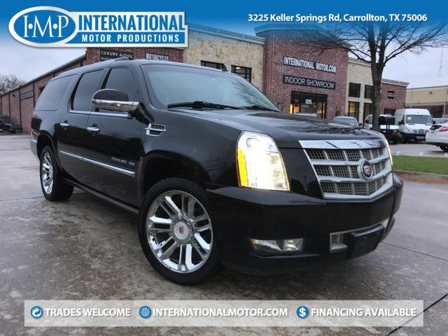 2013 Cadillac Escalade ESV Platinum