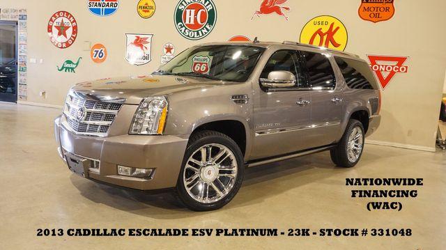 2013 Cadillac Escalade ESV Platinum ROOF,NAV,REAR DVD,HTD/COOL LTH,23K