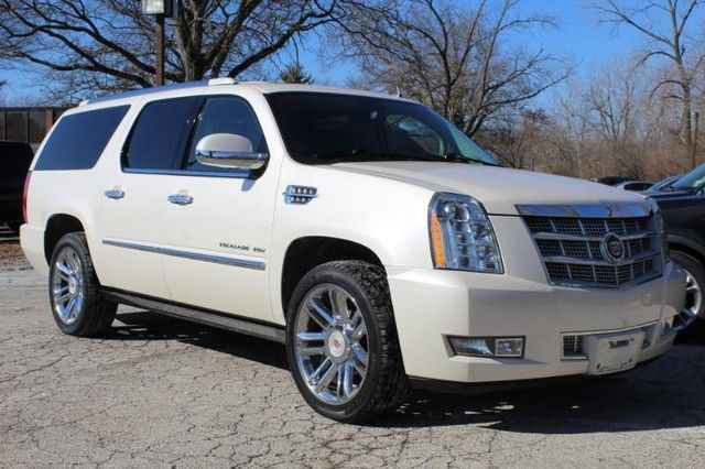 2013 Cadillac Escalade ESV Platinum Edition St. Louis, Missouri 0
