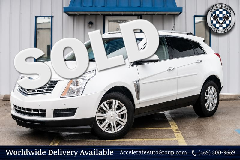 2013 Cadillac SRX LUXURY COLLECTION WHITE ON TAN LEATHER VERY NICE!! in Rowlett Texas