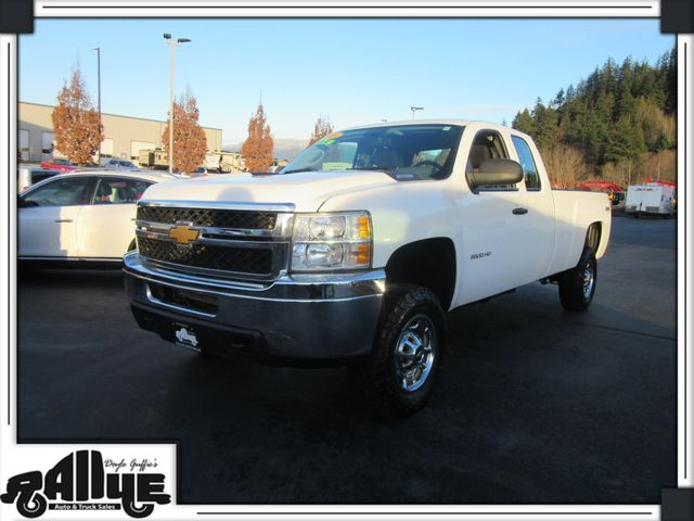 2013 Chevrolet 2500 HD Silverado WT Q/Cab 4WD in Burlington, WA 98233