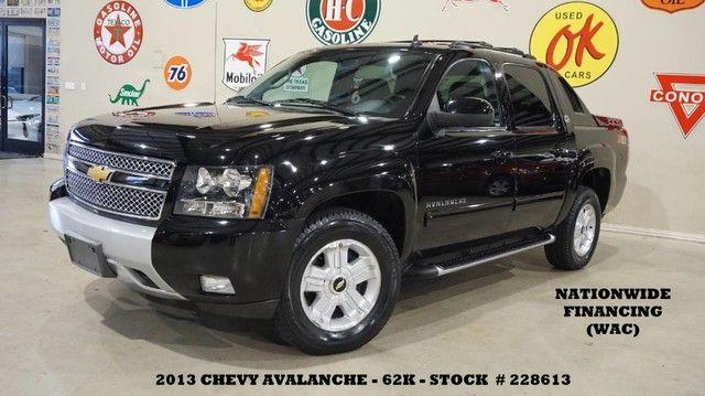 2013 Chevrolet Avalanche Black Diamond LT Z-71 4X4 BACK-UP CAM,HTD LTH,62K!
