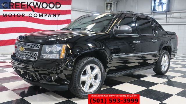 2013 Chevrolet Avalanche LTZ Black Diamond 4x4 Nav Roof Tv Dvd 1 Owner NICE