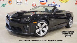 2013 Chevrolet Camaro ZL1 Convertible AUTO,HUD,BACK-UP CAM,HTD LTH,2K! in Carrollton TX, 75006