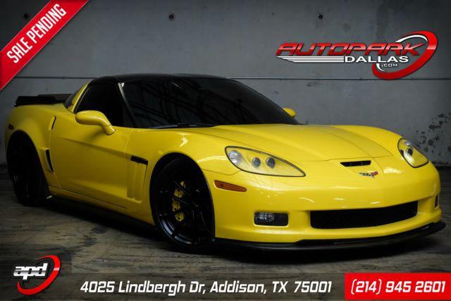 2013 Chevrolet Corvette Grand Sport 3LT ZR1 Cup wheels & Carbon Fiber Kit in Addison, TX 75001
