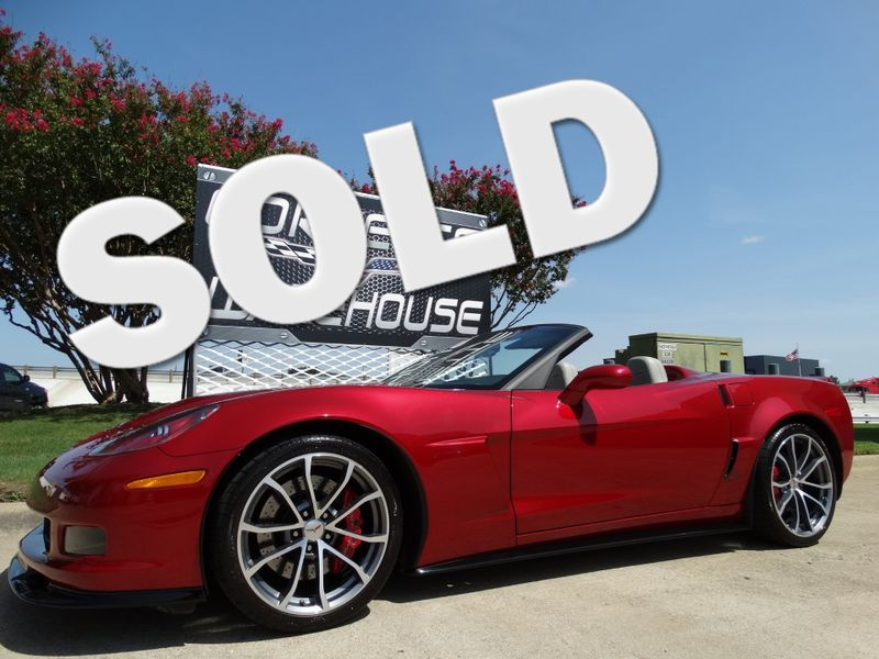 2013 Chevrolet Corvette Convertible 427, 1SB, NAV, Cups, Carbon Kit, 11k! | Dallas, Texas | Corvette Warehouse