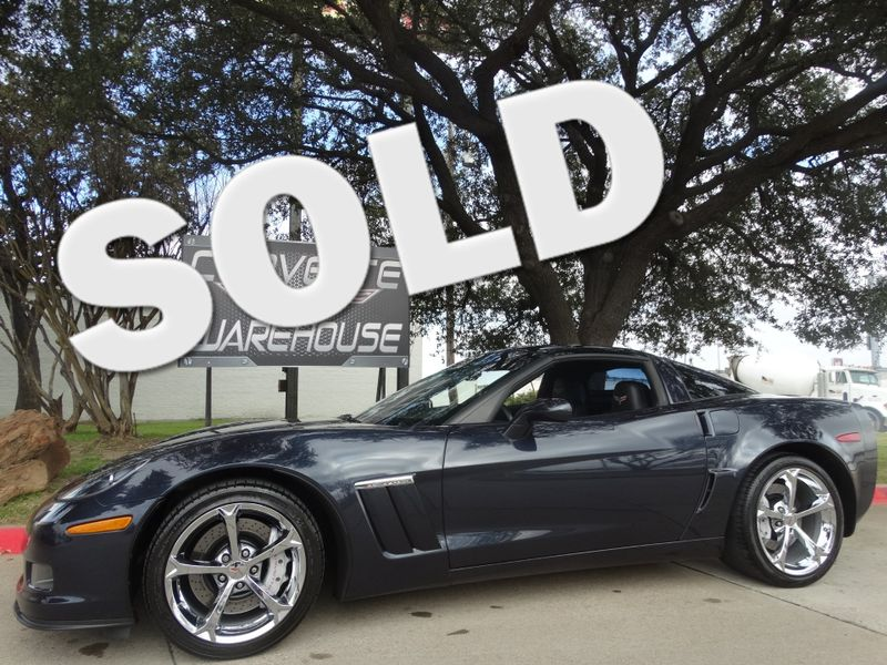 2013 Chevrolet Corvette Z16 Grand Sport 3LT, NAV, Glass Top, Chromes 25k | Dallas, Texas | Corvette Warehouse