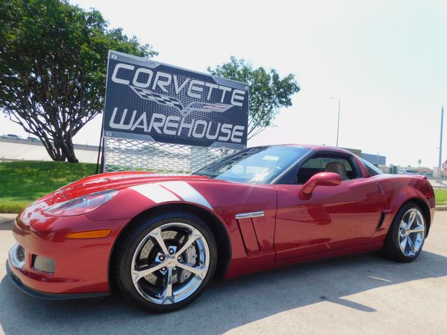 2013 Chevrolet Corvette Grand Sport 3LT, F55, NAV, Borla, Chromes,19k
