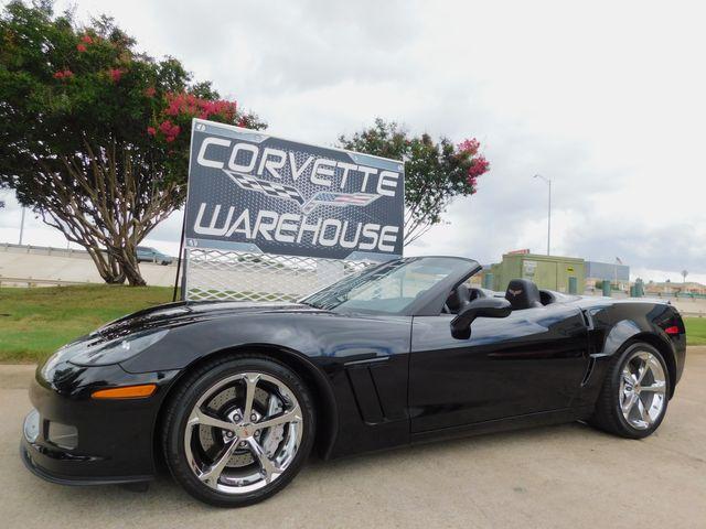 2013 Chevrolet Corvette Grand Sport 3LT, F55, NAV, NPP, Auto, Chromes 10k