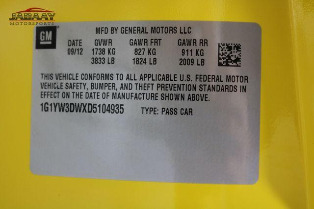 2013 Chevrolet Corvette Grand Sport 3LT Merrillville, Indiana 50