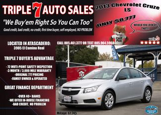 2013 Chevrolet Cruze LS in Atascadero CA, 93422