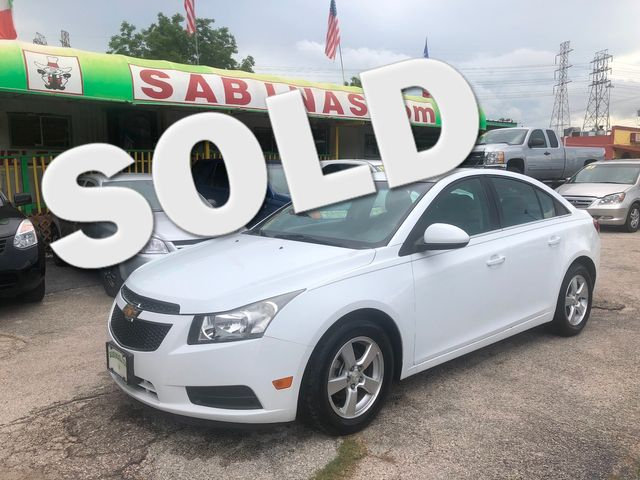 2013 Chevrolet Cruze 1LT Houston, TX 0