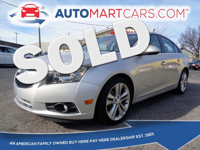 2013 Chevrolet Cruze LTZ | Nashville, Tennessee | Auto Mart Used Cars Inc. in Nashville Tennessee