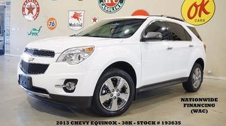 2013 Chevrolet Equinox LTZ FWD REMOTE START,NAV,BACK-UP,HTD LTH,CHROME... in Carrollton TX, 75006