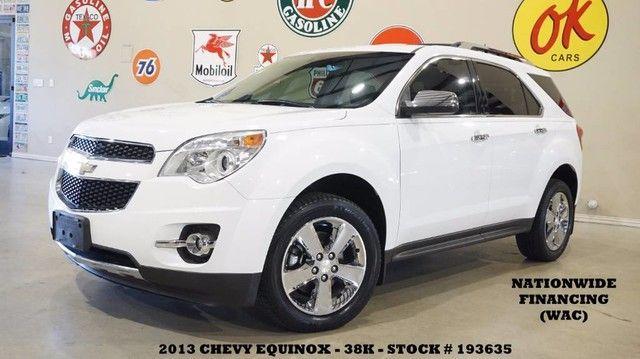2013 Chevrolet Equinox LTZ FWD REMOTE START,NAV,BACK-UP,HTD LTH,CHROME...