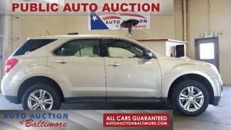 2013 Chevrolet Equinox LS   JOPPA, MD   Auto Auction of Baltimore  in Joppa MD