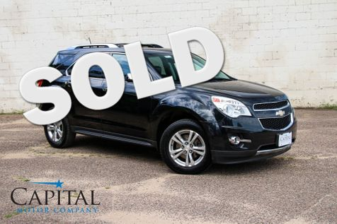 2013 Chevrolet Equinox LTZ AWD Crossover w/Navigation, Backup Cam, Heated Seats, Moonroof & Bluetooth Audio in Eau Claire