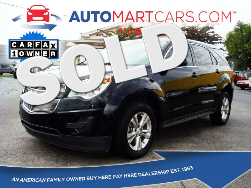 2013 Chevrolet Equinox LS | Nashville, Tennessee | Auto Mart Used Cars Inc. in Nashville Tennessee