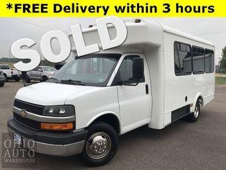 2013 Chevrolet Express 3500 Shuttle Bus 6.0L V8 Power Lift Gate Cln Carfax ... in Canton, Ohio 44705