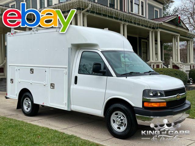 2013 Chevrolet Express 3500 CUTAWAY UTILITY BOX VAN LIKE NEW LOW MILES