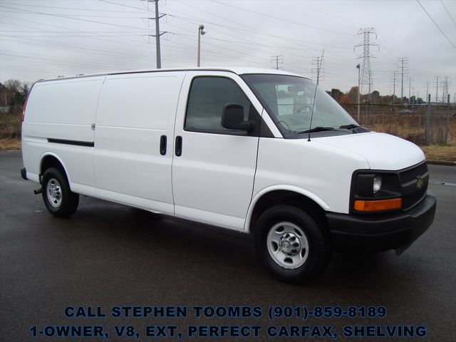 2013 Chevrolet Express Cargo Van 2500 EXT 1-OWNER, EXTENDED, PERFECT CARFAX, V8 in Memphis Tennessee, 38115