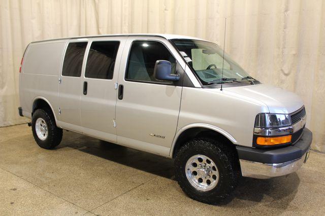 2013 Chevrolet Express Cargo Van 4x4 quigley quigley