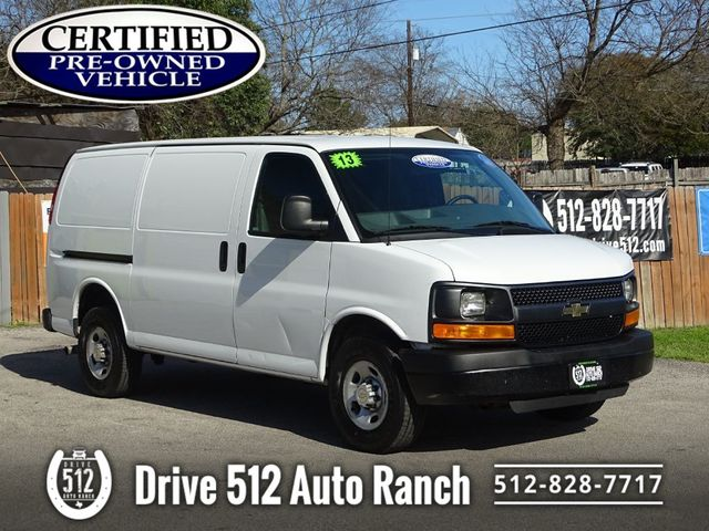 2013 Chevrolet Express Cargo Van CARGOVAN READY TO WORK