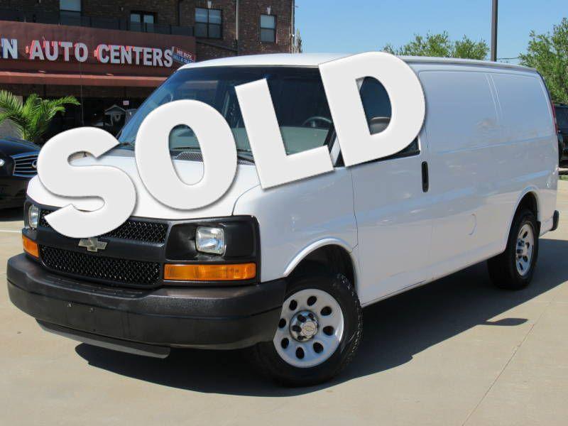 2013 Chevrolet Express Cargo Van 1500 | Houston, TX | American Auto Centers in Houston TX