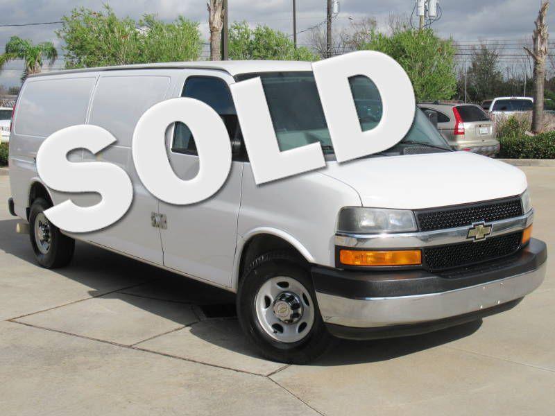 2013 Chevrolet Express Cargo Van 3500 Diesel | Houston, TX | American Auto Centers in Houston TX