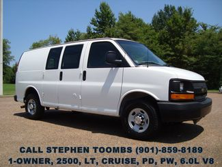 2013 Chevrolet Express Cargo Van 2500, 1-OWNER, 6.0L V8, CRUISE, PD, PW, LT PKG in Memphis Tennessee, 38115