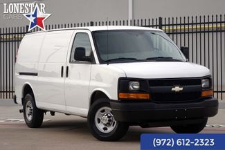 2013 Chevrolet 2500 Cargo Van Clean Carfax One Owner Service Records in Plano Texas, 75093