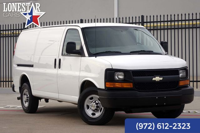 2013 Chevrolet 2500 Cargo Van Clean Carfax One Owner Service Records