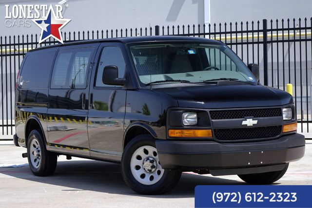 2013 Chevrolet Express 1500 Cargo Van Clean Carfax Shelves Bulkhead Protector