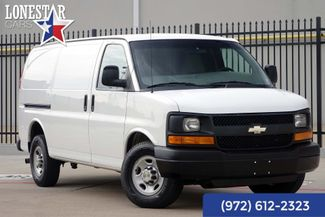 2013 Chevrolet G2500 Cargo Van Express One Owner Clean Carfax Service Records in Plano Texas, 75093