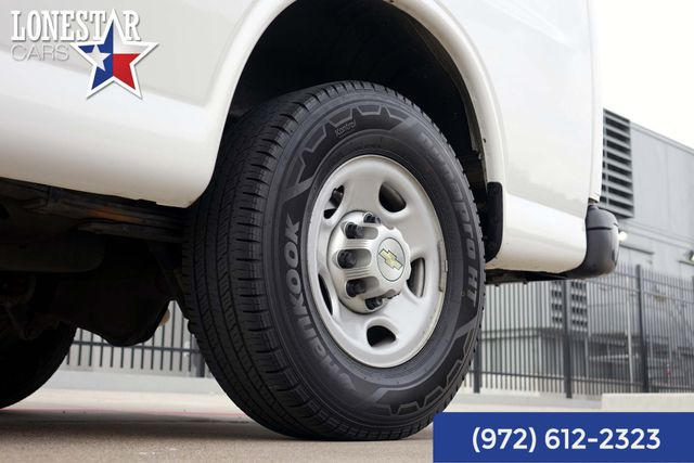 2013 Chevrolet G2500 Cargo Van Express One Owner Clean Carfax Service Records in Carrollton, TX 75006