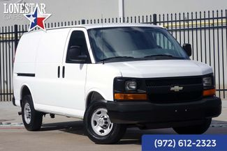 2013 Chevrolet 3/4 Ton Cargo Van Express Clean Carfax One Owner in Plano Texas, 75093