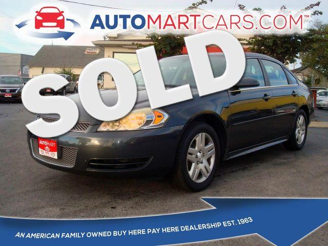 2013 Chevrolet Impala LT | Nashville, Tennessee | Auto Mart Used Cars Inc. in Nashville Tennessee